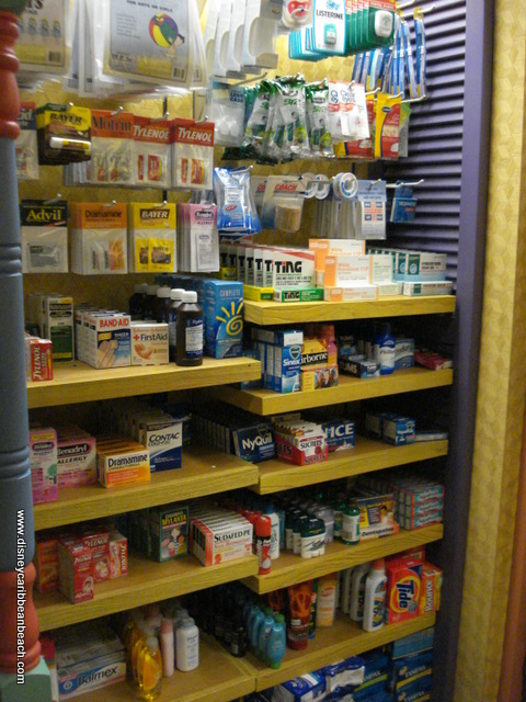 Calypso Trading Post First Aid and Medicine Selection