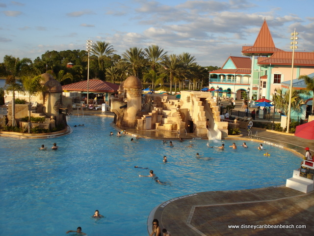 Pool Caribbean Beach Resort Fan Site